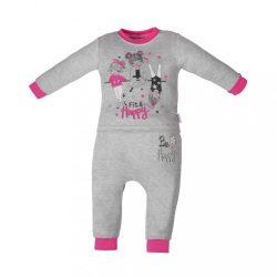Baba szabadidőnadrág és póló Fit and Happy New Baby