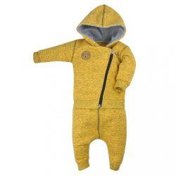 Baba szabadidő nadrág és pulóver Koala Koala melír sárga