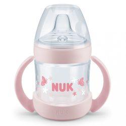 Baba tanuló itató NUK Nature Sense 150 ml rózsaszín