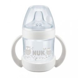 Baba tanuló itatópohár NUK Nature Sense 150 ml fehér