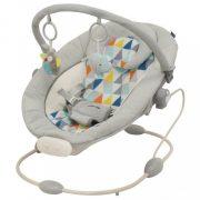 Gyerek pihenőszék Baby Mix világos szürke