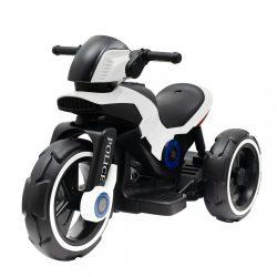 Gyermek elektromos motor Baby Mix POLICE fehér