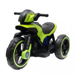 Gyermek elektromos motor Baby Mix POLICE zöld