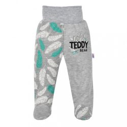 Baba lábfejes nadrág New Baby Wild Teddy