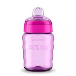 Bájos itató pohár Avent 260 ml lila 9m+