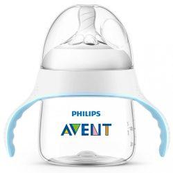 Cumisüveg és itatópohár 2in1 Avent Natural átlátszó 150 ml