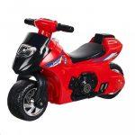 Gyerek zenélő motorkerékpár Bayo red