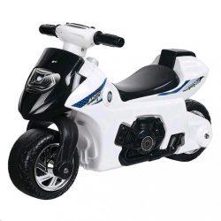 Gyerek zenélő  motorkerékpár Bayo white