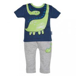 Baba rüvid ujjú póló és szabadidő nadrág New Baby Dino