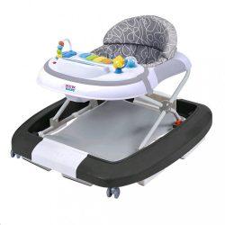 Gyerek bébikomp hintával szilikon kerekek New Baby Magic Sea World