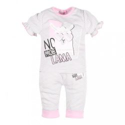 Baba rüvid ujjú póló és szabadidő nadrág New Baby Láma