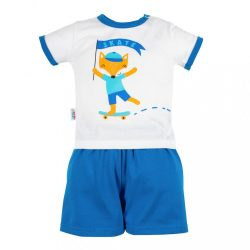 Baba együttes póló és rövid nadrág New Baby Róka