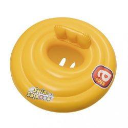 Háromgyűrűs baba úszóülés sárga