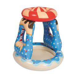 Gyermek felfújható medence tetővel Bestway kék