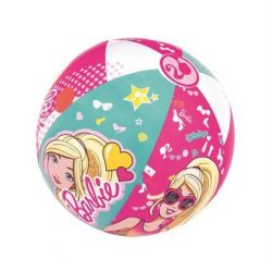 Gyermek felfújható strandlabda Bestway barbie