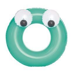 Gyermek felfújható úszógumi Bestway Big Eyes zöld