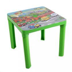 Gyerek kerti bútor- műanyagautók zöld