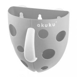 Műanyag fürdőjáték tároló Akuku szürke