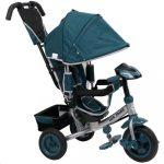 Gyerek háromkerekű bicikli  Baby Mix Lux Trike zöld