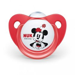 Baba cumi Trendline NUK Disney Mickey 6-18h piros Box