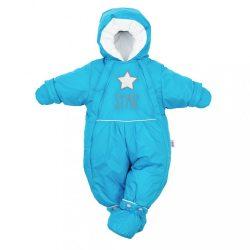 Téli kezeslábas 2az1-ben New Baby kék