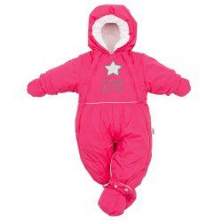 Téli kezeslábas 2az1-ben New Baby rózsaszín