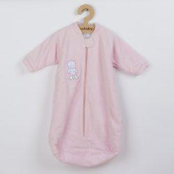 Baba frottír hálózsák New Baby maci rózsaszín