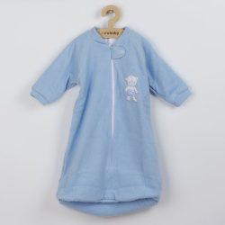 Baba frottír hálózsák New Baby maci kék
