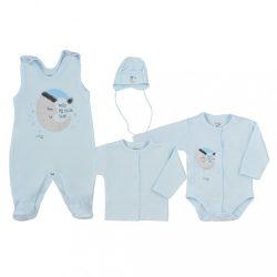4-részes baba együttes Koala Moon kék