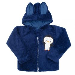 Téli baba pulóver New Baby Penguin sötét kék
