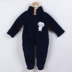 Téli baba kezeslábas New Baby Penguin sötét kék