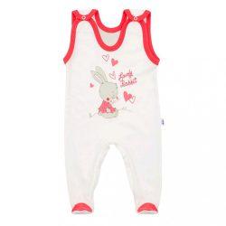 Baba rugdalózó New Baby Lovely Rabbit rózsaszín