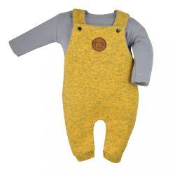2-részes baba együttes Koala Koala melír sárga