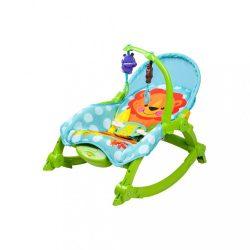 Gyerek pihenőszék 2v1 Bayo green (a csomagolás sérült)