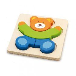 Fa képes kirakó puzzle Viga Maci