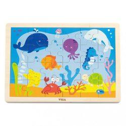 Gyermek fa kirakó puzzle Viga óceán