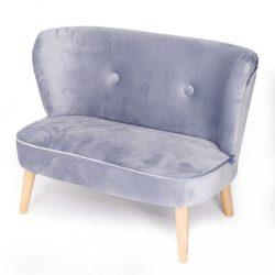 Gyerek Retro kanapé sofa Drewex szürke