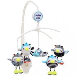 Körhinta a kiságy fölé Baby Mix Pingvinek