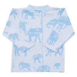 Baba kabátka Baby Service Elefánt kék