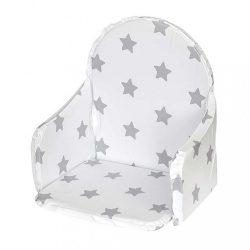 Újszülött szűkítő betét a New Baby Victory etetőszékhez fehér csillagos