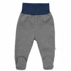 Téli baba lábfejes nadrág Baby Service Retro szürke