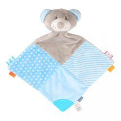 Szundikendő Maci Baby Mix kék