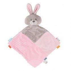 Szundikendő Nyúl Baby Mix rózsaszín