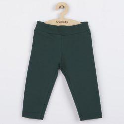 Baba pamut leggings New Baby Leggings sötét zöld