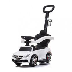 Bébitaxi tolókarral Mercedes Benz AMG C63 Coupe Bayo white