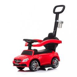 Bébitaxi tolókarral Mercedes Benz AMG C63 Coupe Bayo red