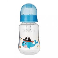 Cumisüveg képel Akuku 125 ml bálna kék