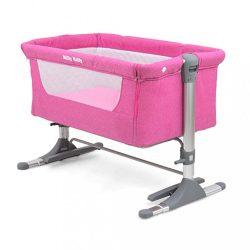 Gyermek kiságy Milly Mally Side by Side pink