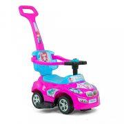 Gyermekjármű 2in1 Milly Mally Happy pink-blue