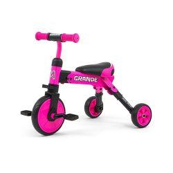 Gyerek háromkerekű bicikli Milly Mally Grande pink
